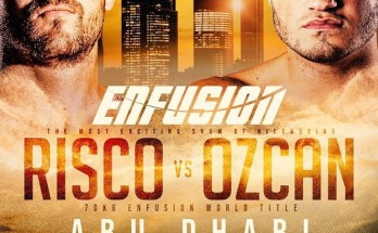 Risco vs Ozcan Fight Poster