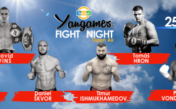 Yangames Fight Night Poster