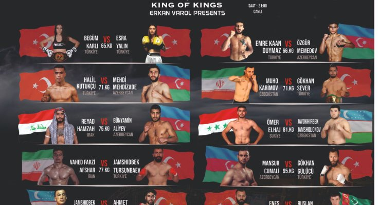 KOK 16 August Fight Poster