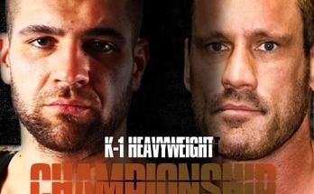K-1 Heavyweight Title Fight Poster