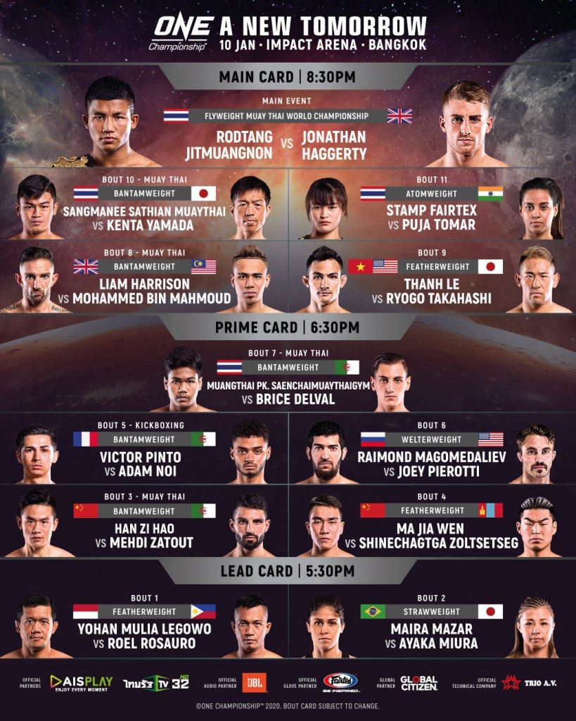 2020 in ONE Championship