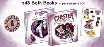 Photo Credit: Chester 5000: Isabelle and George Kickstarter campaign page