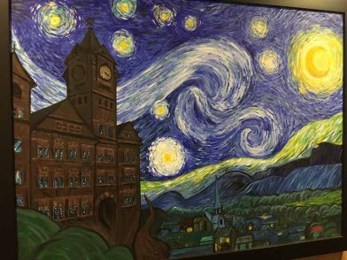 "Auburn University Samford Hall. I will name this ""Starry Samford Night"""