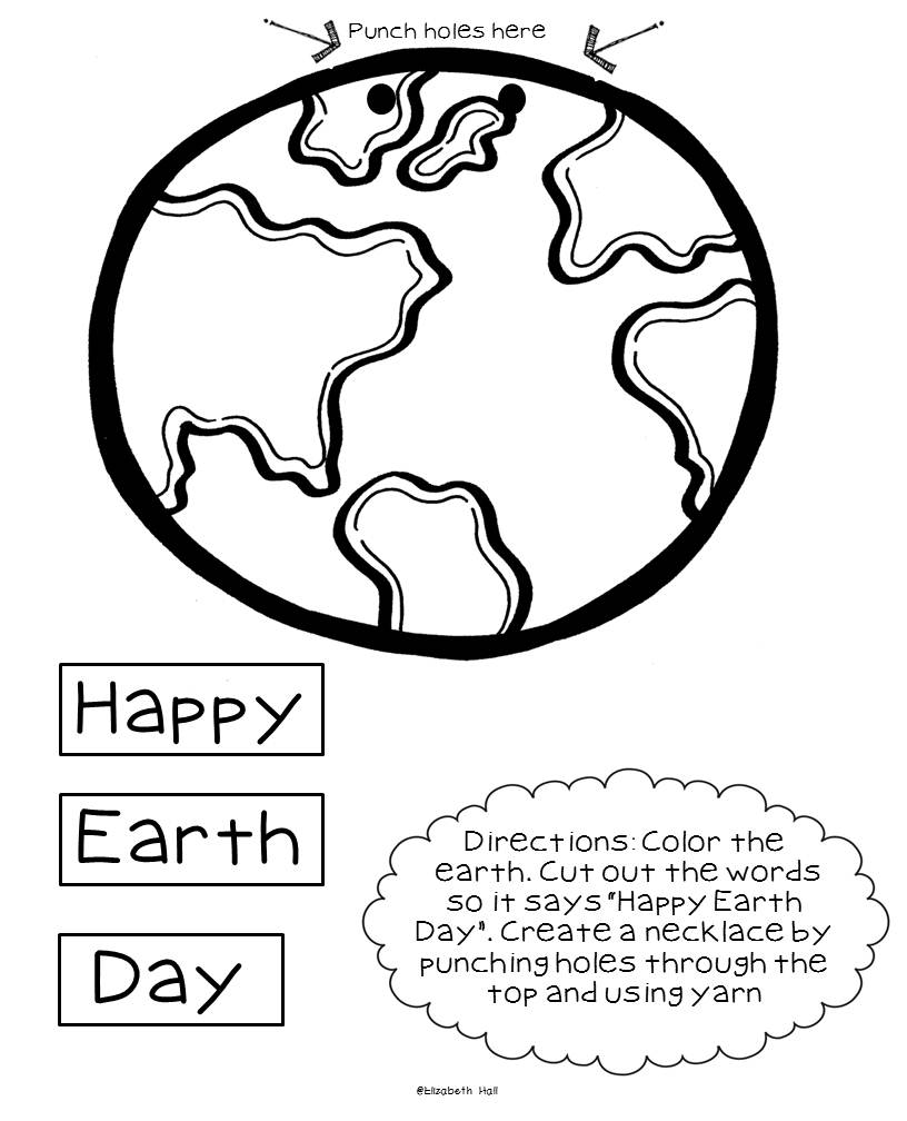 Plants and Earth Day {freebie}