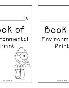 Environmental print emergent reader slide also rh kickinitinkindergarten