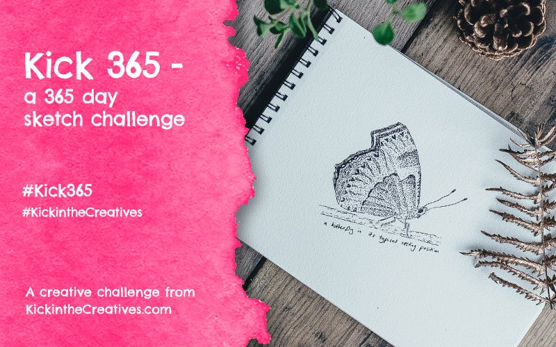 Kick 365 – our 365 Day Sketch Challenge
