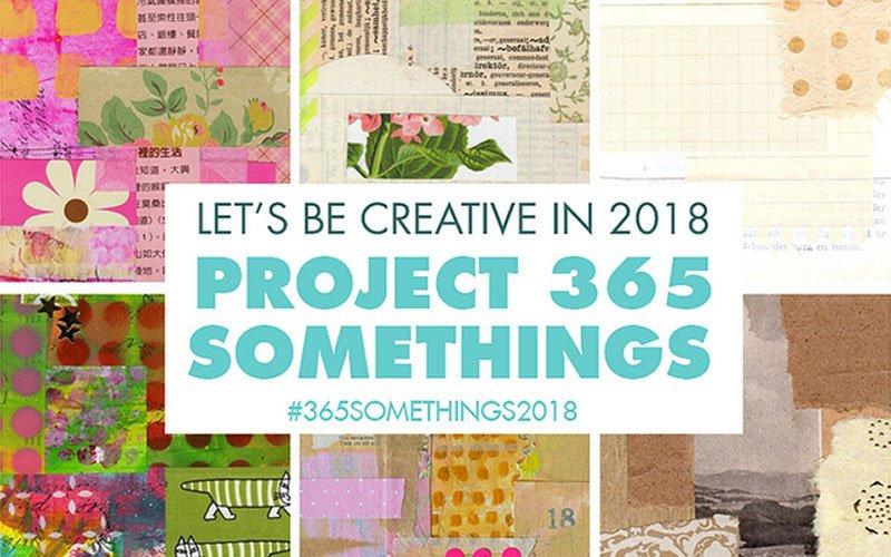 365 Creative Somethings in 2018
