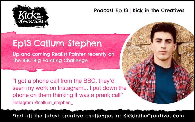 Ep 13 Callum Stephen BBC Big Painting Challenge