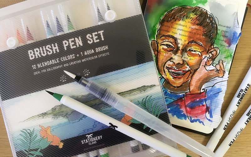 Stationery Island Brush Pens Review