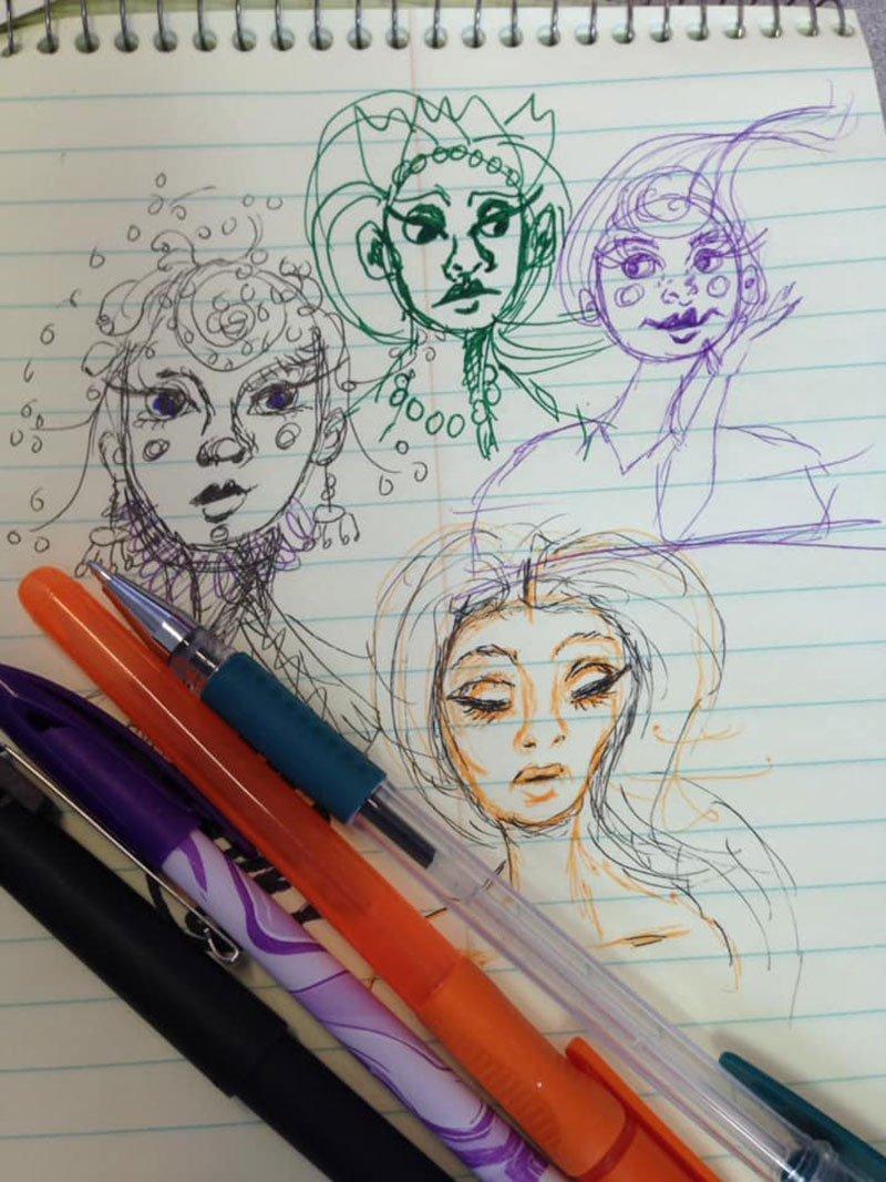 Doodles by Christi C Neff