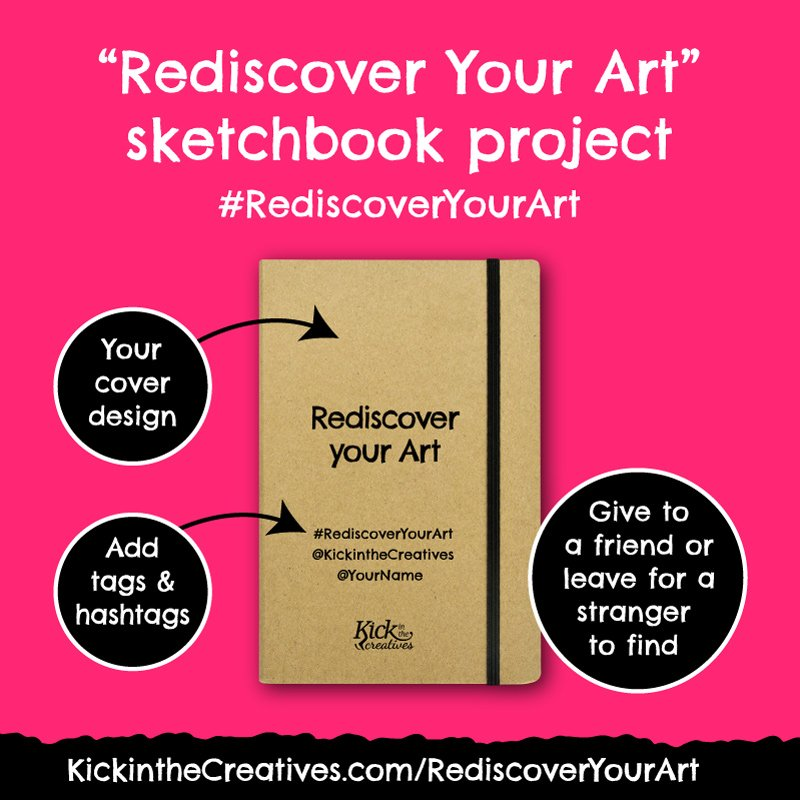 Rediscover Your Art Sketchbook Project