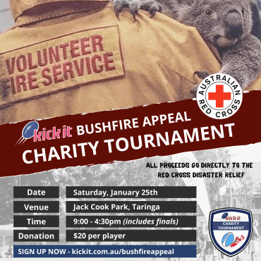 2020 Kick It Bushfire Appeal