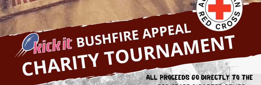 2020 Kick It Bushfire Appeal, Taringa, Stafford, Carseldine