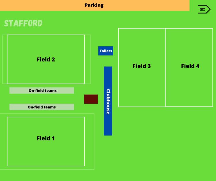 Stafford Venue Map