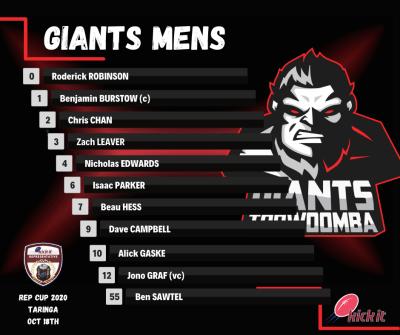 Giants Mens - Rep 2020
