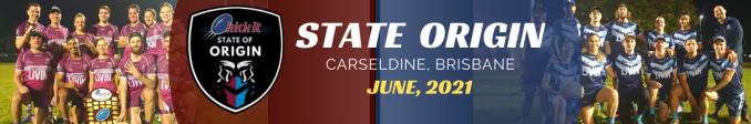 State of Origin, Carseldine, Beenleigh, Sunshine Coast, Taringa, Toowoomba