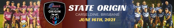 State of Origin 21. Carseldine, Taringa, Sunshine Coast, Beenleigh, Toowoomba.