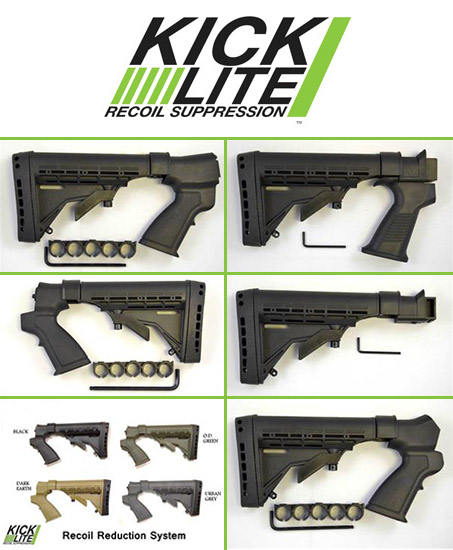Kicklite Stock : kicklite, stock, Stocks,, Recoil, Suppressors,, Shotgun,, Rifle, Phoenix, Technology