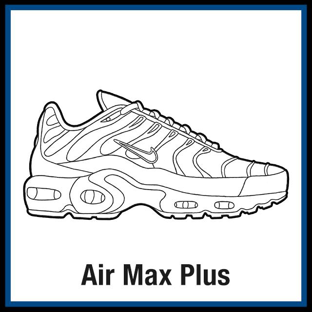 air max 180 template