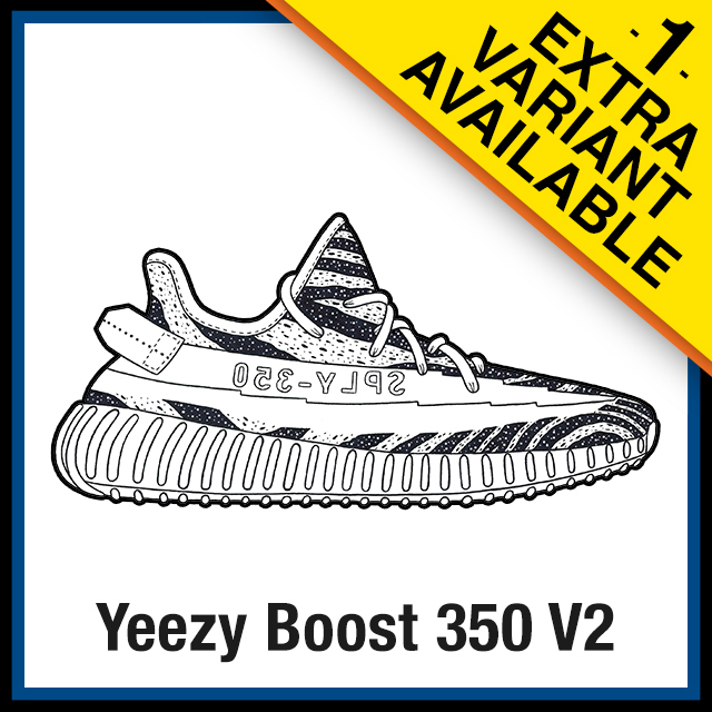 Adidas Yeezy Boost 350 V2 Sneaker Coloring Pages Created By Kicksart