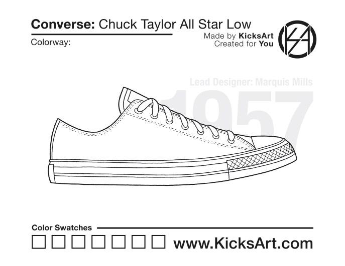 8ad46b6c46c4 Converse Chuck Taylor All Star Low - KicksArt