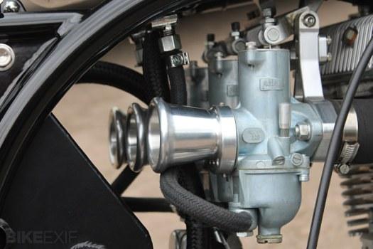 Triton custom motorcycle