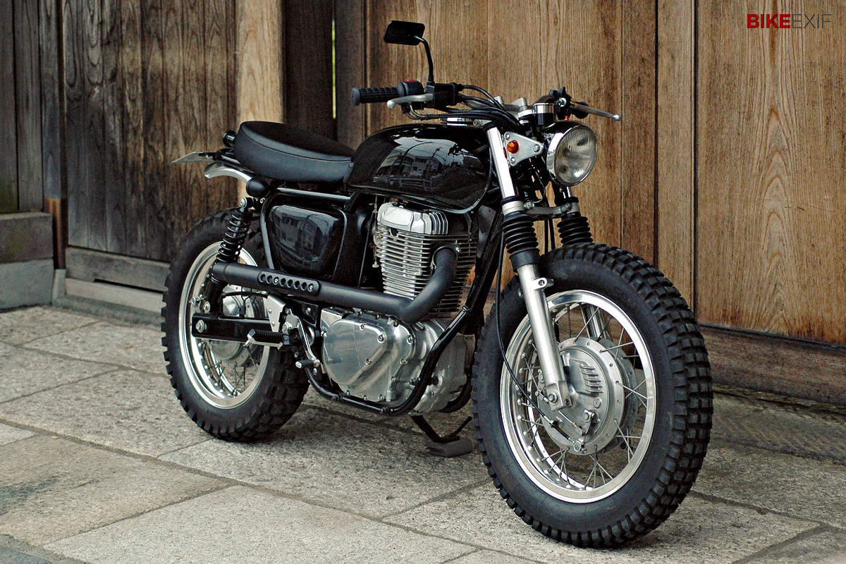 hight resolution of scrambler motorcycle by speedtractor full size