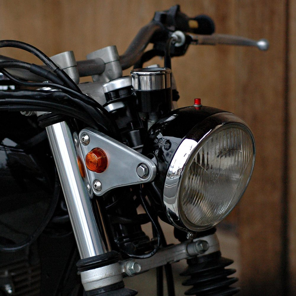 medium resolution of bring the headlight back closer to the forks with shorter stays get mini gauges that can be tucked in tight and shorten the seat a few inches