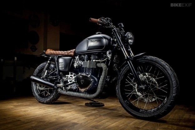 Triumph Bonneville T100 Custom By Maccomotors Gear X Head