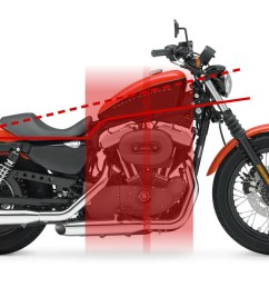 above are the lines that make up the stock harley davidson as you can see it doesn t fit the cafe racer profile at all the foundation line is kinked  [ 1200 x 800 Pixel ]