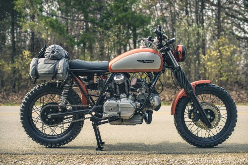 small resolution of tony prust of analog motorcycles is an old fashioned craftsman he can turn his hand to fine woodworking as well as metallurgy and his chicago based