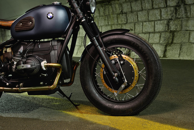 The latest custom from ER Motorcycles is 'Thompson,' a menacing BMW R69S.