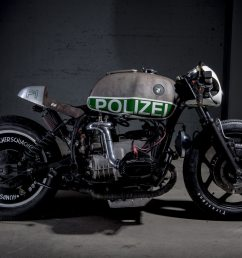 not your usual bmw police motorcycle this supercharged r80 is packing a nos bottle and full size police forces around the world love bmw motorcycles  [ 1200 x 800 Pixel ]