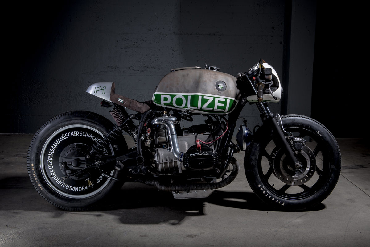 hight resolution of not your usual bmw police motorcycle this supercharged r80 is packing a nos bottle and full size police forces around the world love bmw motorcycles