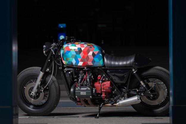 Honda GL1000 Cafe Racer - Phong cách nghệ sĩ