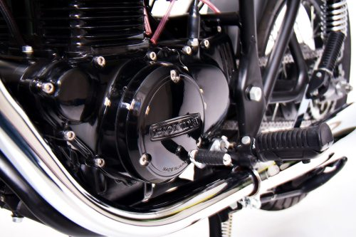 small resolution of everything on the cb s been refurbished in some way the engine s been blasted and coated in a deep black along with the wheels which were stripped and