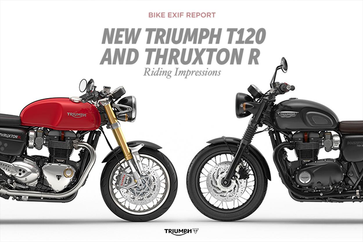 Triumph Scrambler Vs Thruxton