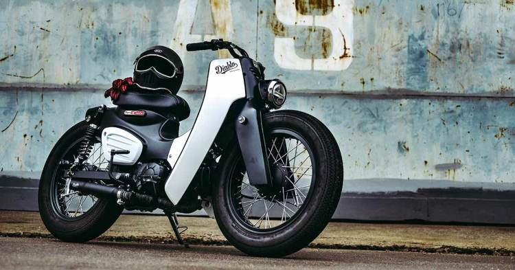 fb 10 The new Honda Super Cub with a custom from K Speed
