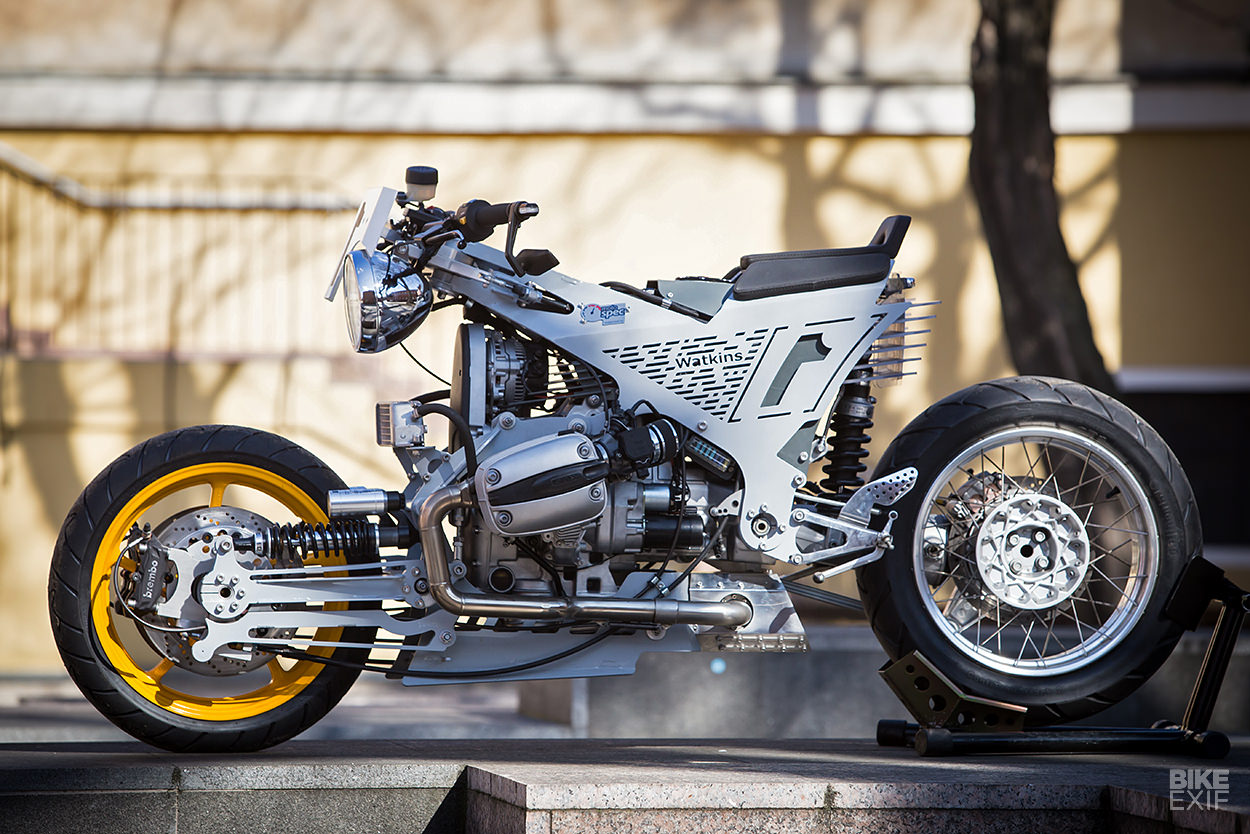 hight resolution of at its heart is a 2002 bmw r 1150 rt motor transmission and final drive it s easy to assume jack sourced an 1150 and stripped it but in fact he only