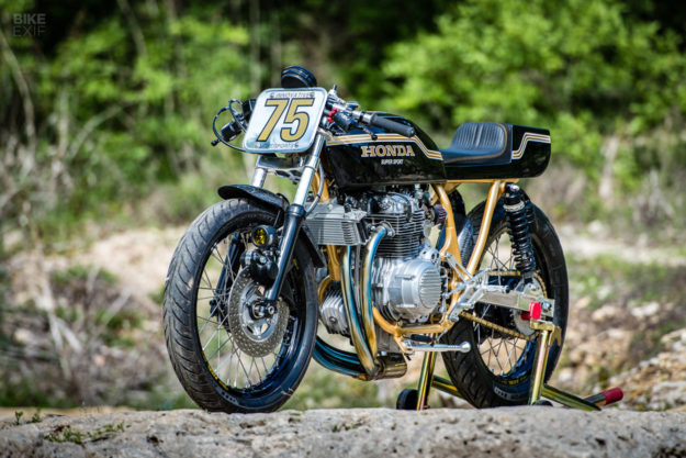 Z1 Beater A Honda Cb400f Tuned For The
