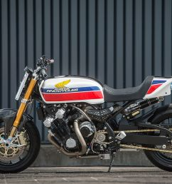 arno decided to respect the 70s styling but also update it to modern times taking it from classic superbike to modern muscle bike the cbx would get a  [ 1250 x 834 Pixel ]