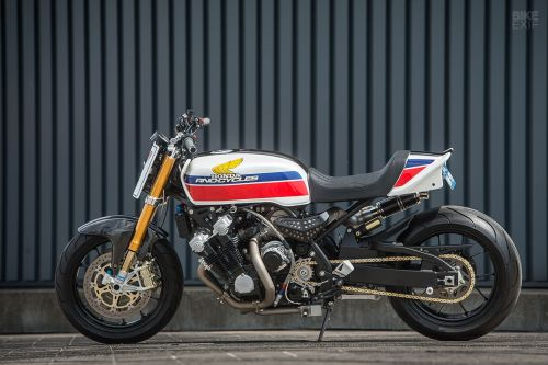 small resolution of arno decided to respect the 70s styling but also update it to modern times taking it from classic superbike to modern muscle bike the cbx would get a