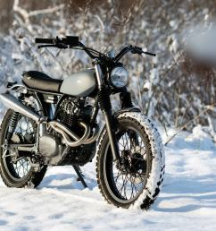 turning the cb250 rs into a vintage style honda trail bike [ 1250 x 834 Pixel ]