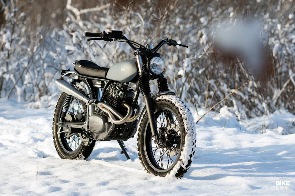 medium resolution of turning the cb250 rs into a vintage style honda trail bike