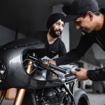 Vigilante A Royal Enfield Cafe Racer From Jaipur Bike Exif