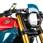 Daboia A Vivid Bmw K75 Cafe Racer From Matteucci Garage Bike Exif
