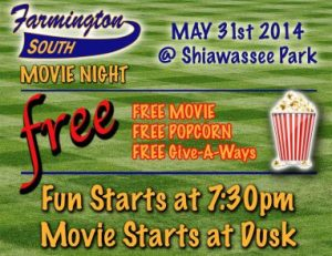 South Farmington Baseball Movie Night