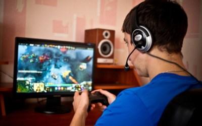 Do men work less because of gaming?