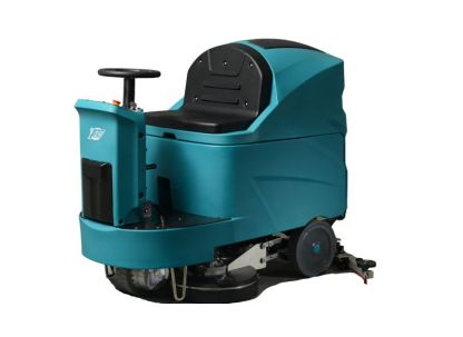 TVX T150/85R Ride-On Floor Scrubber