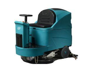 TVX T150/85R Ride-On Floor Scrubber